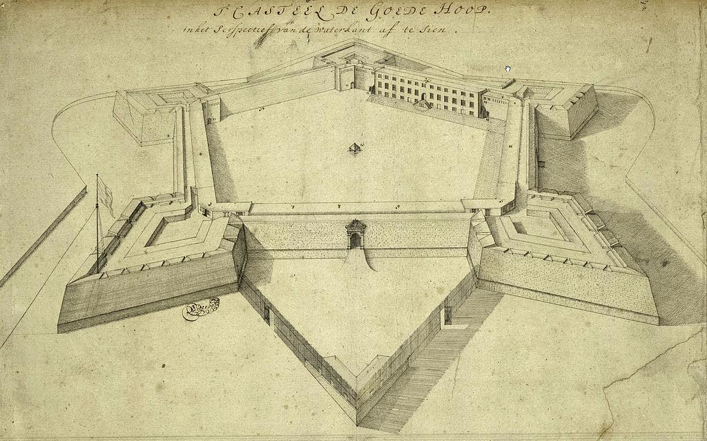 Kasteel de Goede Hoop circa 1680