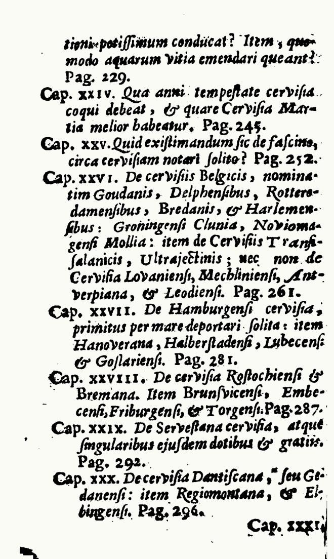 Various De Cervisia xxvi