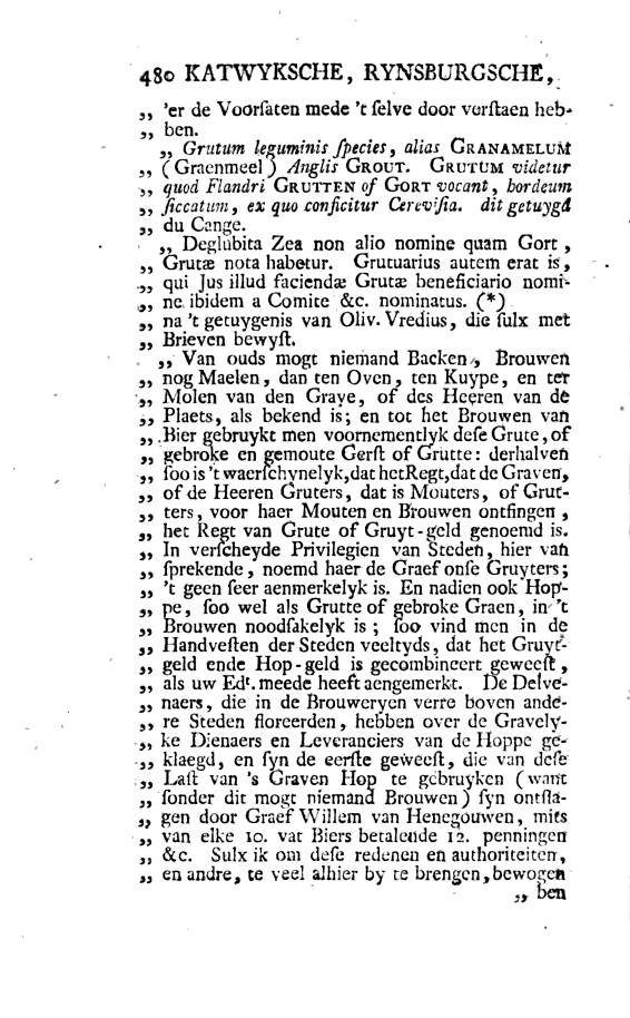 Catti aborigines Batavorum 1745