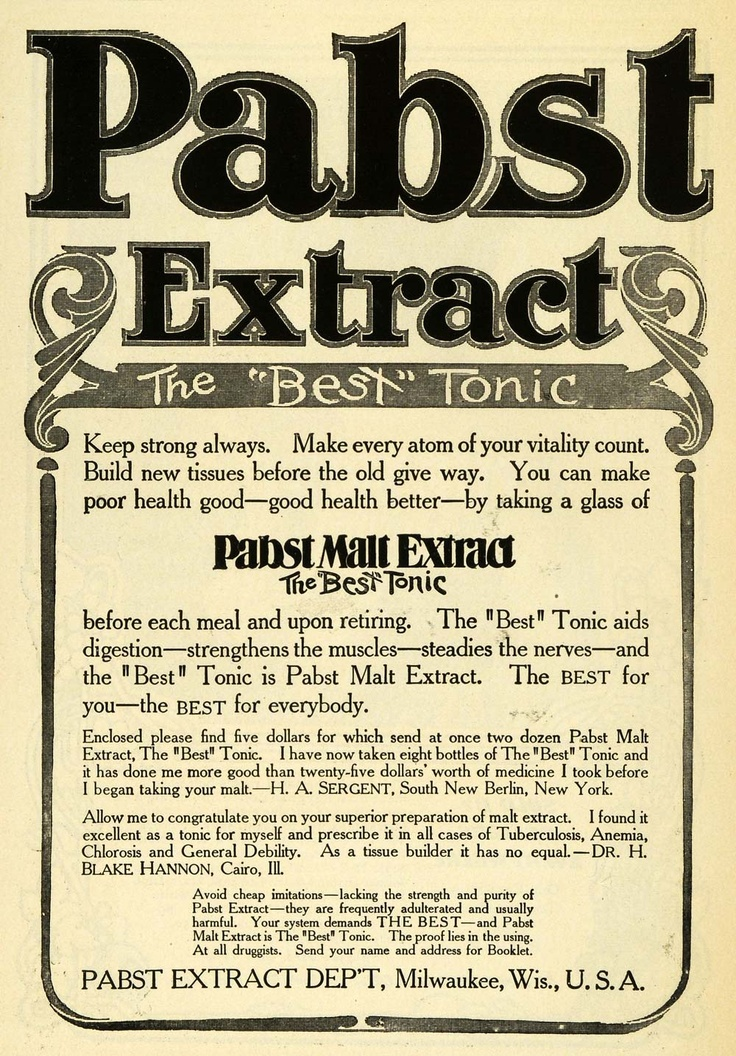 pabst malt extract